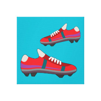 Football Shoes Canvas