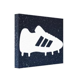 Football Shoes Pictograph Canvas Print
