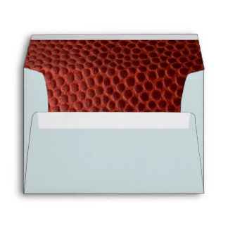 Football Silver Personalized Envelope