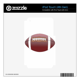 Football Skins For iPod Touch 4G