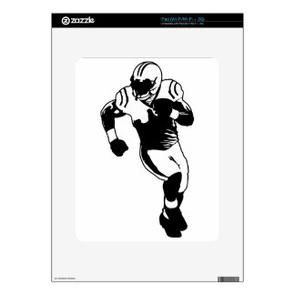 Football Decal For The iPad