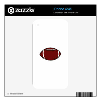 Football Skin For iPhone 4S
