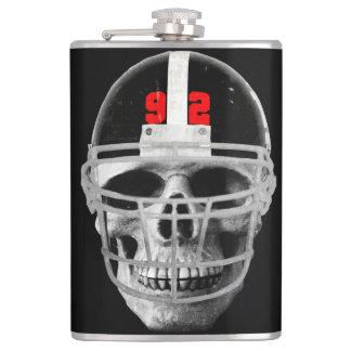 Football skull flasks
