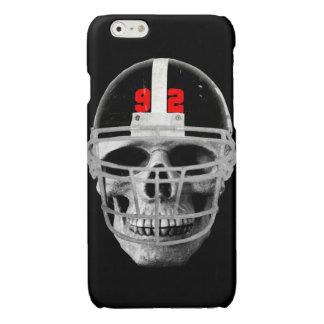 Football skull glossy iPhone 6 case