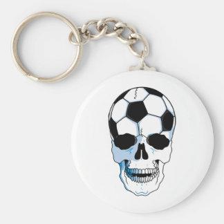 Football Skull Keychain