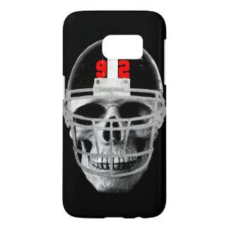 Football skull samsung galaxy s7 case