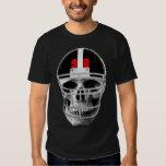 Football skull t shirts