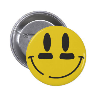 Football Smiley Button