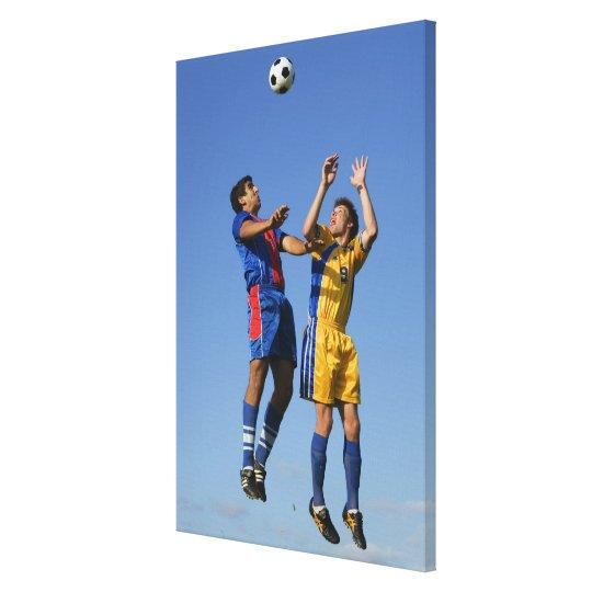 Football (Soccer) 2 Canvas Print