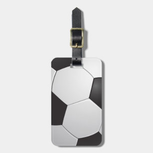 Football Soccer Bag Tag