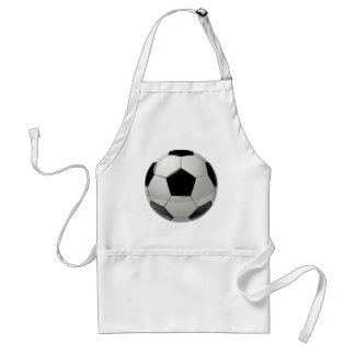 Football Soccer Ball Adult Apron