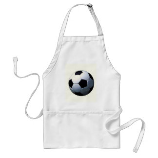 Football - Soccer Ball Adult Apron
