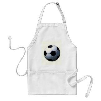 Football - Soccer Ball Adult Apron