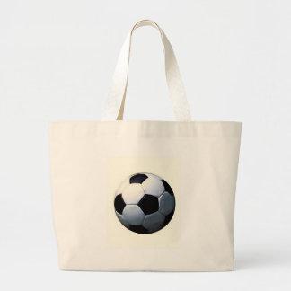 Football - Soccer Ball Jumbo Tote Bag