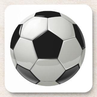 Football Soccer Ball Beverage Coaster