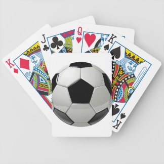Football Soccer Ball Bicycle Playing Cards