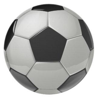 Football Soccer Ball Dinner Plate