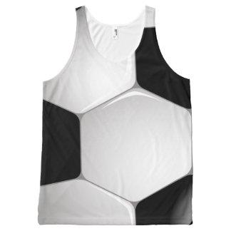 Football Soccer Ball All-Over Print Tank Top