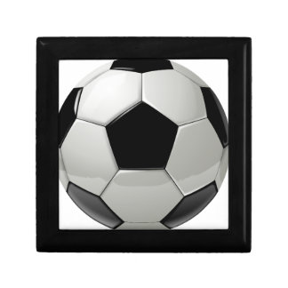 Football Soccer Ball Jewelry Box