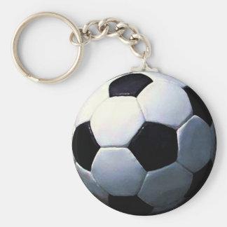 Football - Soccer Ball Key Chain