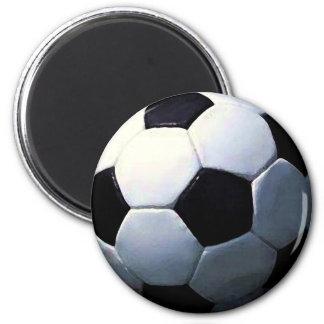 Football - Soccer Ball Magnet