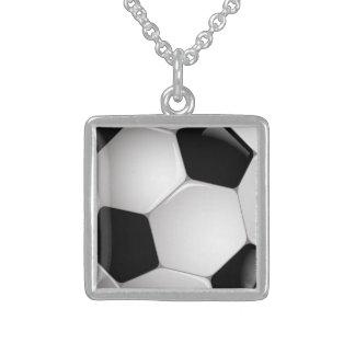 Football Soccer Ball Necklace