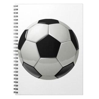Football Soccer Ball Notebook