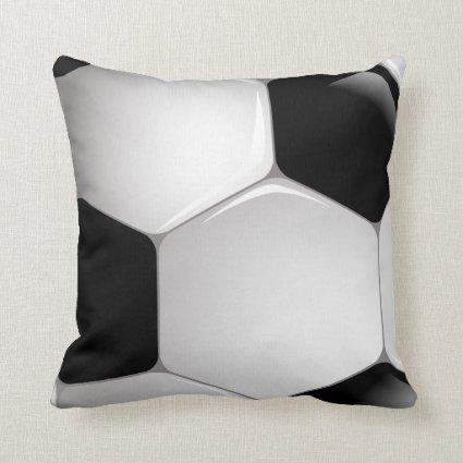 Football Soccer Ball Pillow
