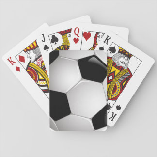 Football Soccer Ball Playing Cards