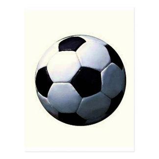 Football - Soccer Ball Postcard