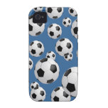Football Soccer Balls Vibe iPhone 4 Case