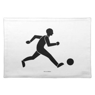 Football / soccer cloth placemat