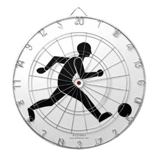 Football / soccer dartboard