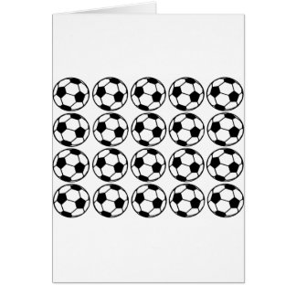 Football - Soccer Design Card