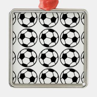 Football - Soccer Design Metal Ornament