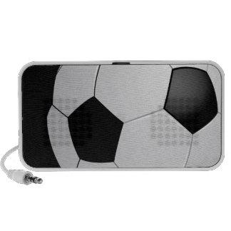 Football Soccer Doodle Travel Speaker