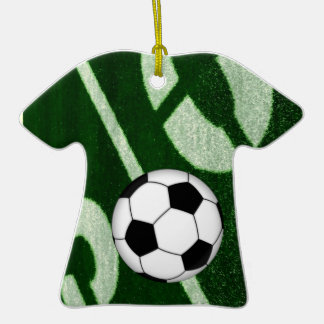 Football soccer goal jersey christmas ornaments