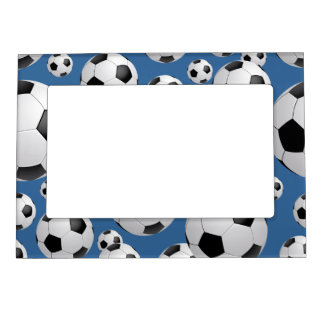 football soccer magnetic photo frame