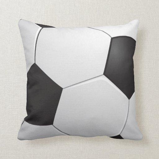 Football Soccer Pillow