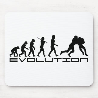 Football Soccer Player Sport Evolution Art Mouse Pad