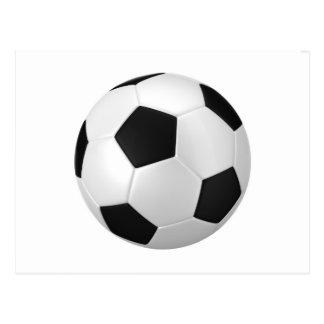 football soccer postcards