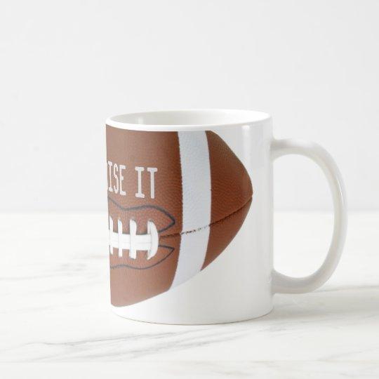 Football Soccer Rugby customise it Coffee Mug