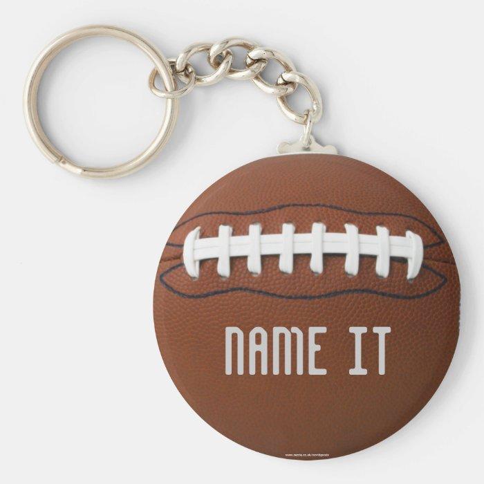 Football Soccer Rugby Keychain