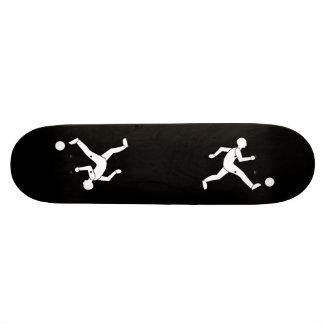 Football / soccer skateboard deck