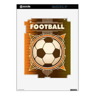 Football Soccer Sport Ball Decal For iPad 2