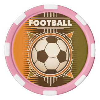 Football Soccer Sport Ball Poker Chips
