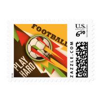 Football Soccer Sport Ball Postage