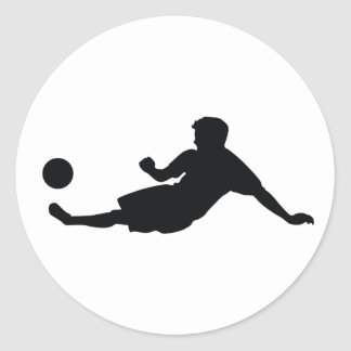 Football Soccer Round Stickers