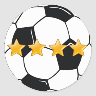Football (Soccer) sticker for an all star player