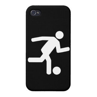 Football Soccer Symbol Cover For iPhone 4
